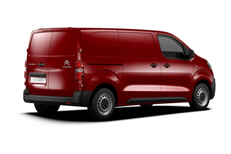 Citroen Dispatch e-Dispatch M 1000Kg Elec 50kWh 101KW FWD 136PS Enterprise Van Auto back view