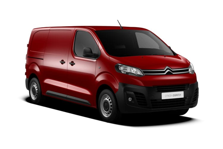 Citroen Dispatch e-Dispatch M 1000Kg Elec 50kWh 101KW FWD 136PS Enterprise Van Auto front view