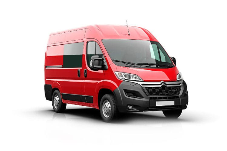 Citroen Relay 35 L3 2.2 BlueHDi FWD 140PS Ready to Run Enterprise Crew Van High Roof Manual [Start Stop] front view