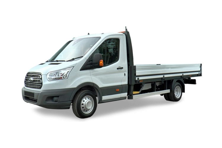 Ford Transit 350HD L4 2.0 EcoBlue FWD 170PS Leader Premium Dropside Manual [Start Stop] front view