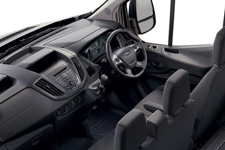 Ford Transit 350 L4 2.0 EcoBlue FWD 170PS Leader Luton Manual [Start Stop] inside view