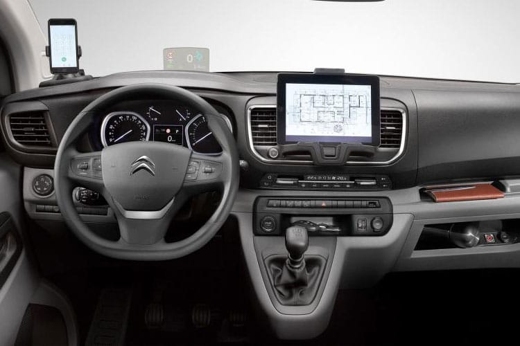 Citroen Dispatch XL 1400Kg 2.0 BlueHDi FWD 120PS Enterprise Van Manual [Start Stop] inside view