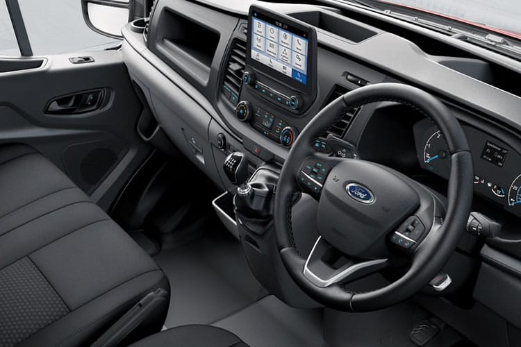 Ford Transit 350HD L4 2.0 EcoBlue FWD 170PS Leader Premium Dropside Manual [Start Stop] inside view