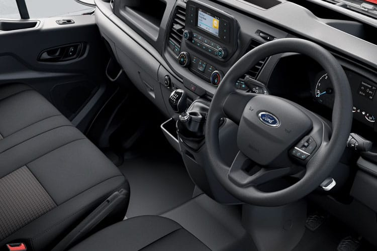 Ford Transit 350 L5 RWD 2.0 EcoBlue RWD 130PS Leader Chassis Double Cab Manual [Start Stop] inside view